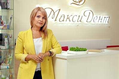 Киселёва Олеся Олеговна - управляющий клиникой Максидент