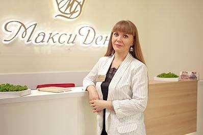 Углина Кристина Станиславовна - администратор стоматологии Максидент